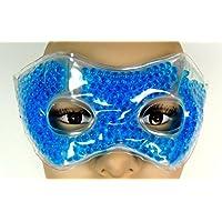 Máscara de frío - calor con perlas para relajar los ojos