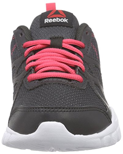 Reebok Trainfusion Nine, Chaussures de Course Femme Noir - Schwarz (Coal/Fearless Pink/White)