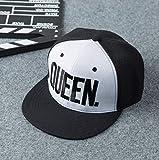 LAKD Cappello Baseball Primavera ed Estate Ricamo Outdoor Coppia Hip Hop Sport Piatto Protezione Solare Cappello AmanteA