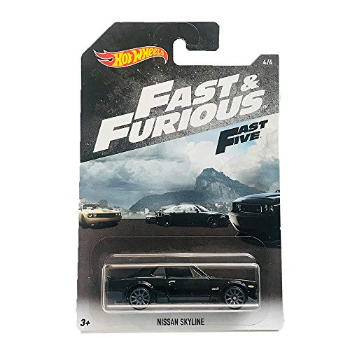 Hot Wheels Nissan Skyline Fast and Furious Fast Five 4/6