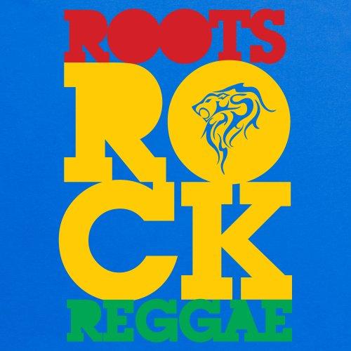 Roots Rock T-Shirt, Damen Royalblau