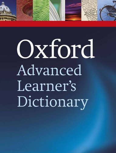 Oxford Advanced Learner's Dictionary, 8th edition (Oxford Advanced Learner's Dictionary) por Hornby A. S.
