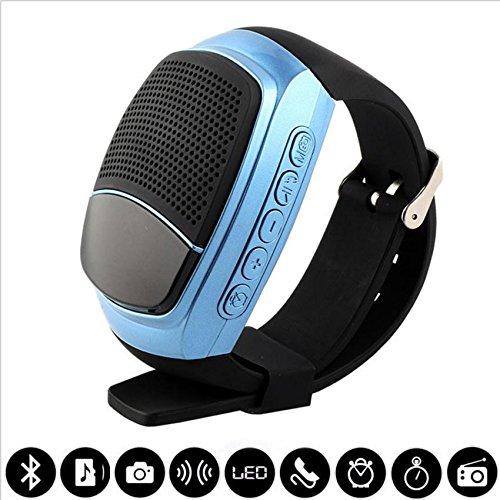 Tutoy B90 HiFi Reloj Bluetooth 3,0 multifuncións Pulsera Outdooors Mini música Altavoz Smart Watch...