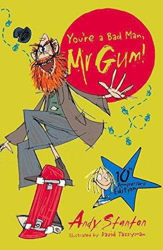 Portada del libro You're a Bad Man, Mr Gum! by Andy Stanton (2016-09-28)