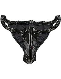 YIZYIF Tanga Hombre Lencería Elástica Atractiva Bikini Ropa Interior Masculina Calzoncillos