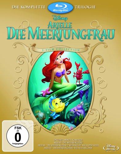 Arielle die Meerjungfrau – Trilogie [Blu-ray]
