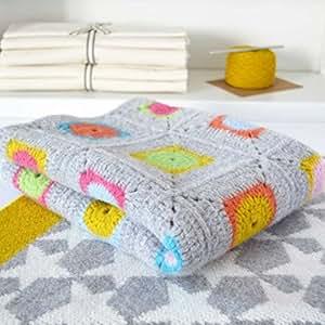 Warm Pixie Granny Häkel-Set, quadratisch, 100 % weiche Lammwolle - alles, was Sie brauchen, ist im Lieferumfang enthalten
