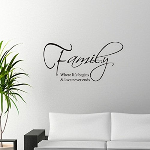 Fairy Season Wall Art Sticker Quote Wall Decal For Living Room Bedroom  Kitchen Part 92