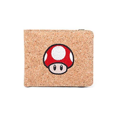Preisvergleich Produktbild Super Mario 1 UP Pilz Kork Geldbörse Brieftasche von Nintendo
