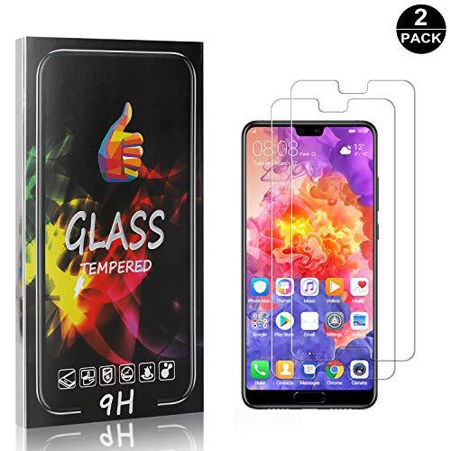 Huawei P20 Pro Displayschutzfolie, Bear Village® 9H Härte Schutzfilm aus Gehärtetem Glas, Anti-Öl Displayschutz Schutzfolie für Huawei P20 Pro, 2 Stück