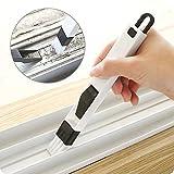 Union Tesco 2 in 1 Multifunktionalen Fenster Reinigungsbürste Tastatur Staub Schaufel Fenster Track Reinigung Werkzeuge