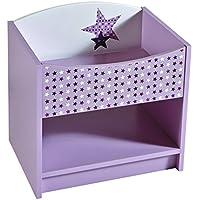 Preisvergleich für Demeyere 299410 Nachttisch FEE, 44,4 x 43,4 x 32,8 cm, rosa