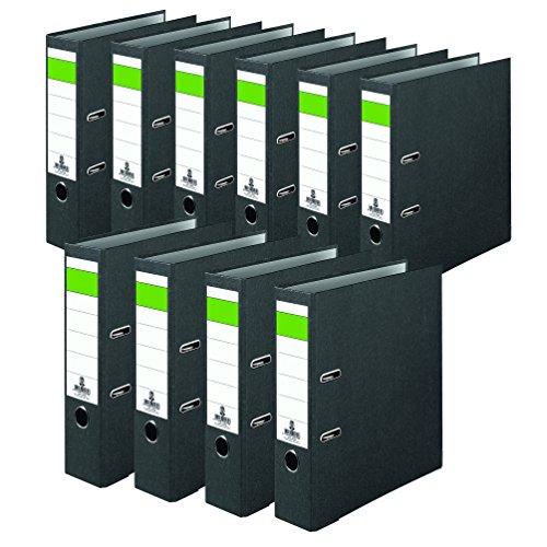 No Name 15039820S Folder 80for DIN A4Documents Spine Width 80mm Wide-Black