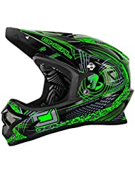 O'Neal Backflip Fidlock Rl2 Venture Casco de Bicicleta, Verde, M (57-58 cm)
