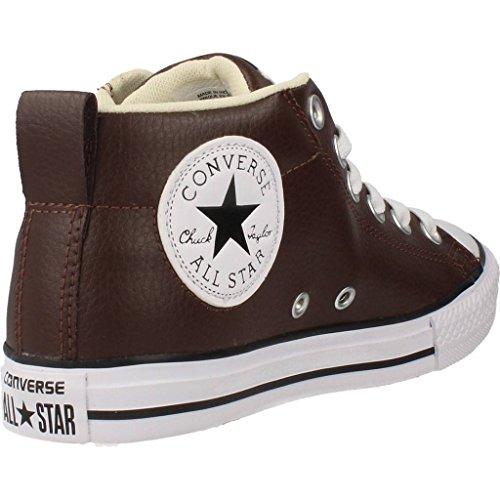 Calzature sportive bambino, colore Marrone , marca CONVERSE, modello Calzature Sportive Bambino CONVERSE CTAS STREET MID Marrone Marrone
