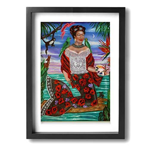 Pintura C Frida Kahlo Mexicana Folk Wall Art Paintings