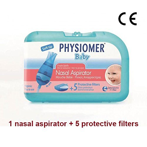 Physiomer bebé aspirador nasal + 5filtros protección
