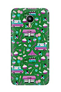 ZAPCASE PRINTED BACK COVER FOR MEIZU M2 NOTE - Multicolor