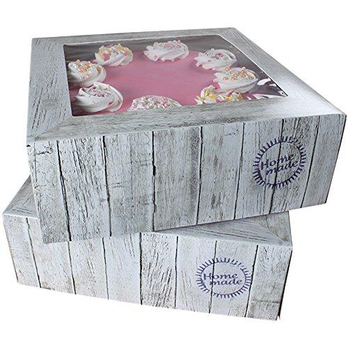 Cake Box FunCakes pure 32 x 115 Set di 2 scatole per dolci le torte scatola