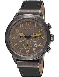 Esprit Herren-Armbanduhr Baxter Chronograph Quarz Leder ES108041004