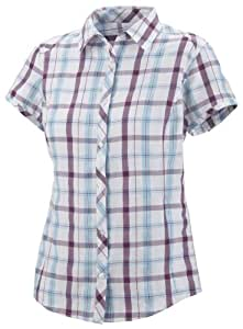 Columbia Women's Surviv-Elle II Shirt - Berry Jam, 1X