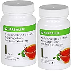 Herbalife Kräuter-Instant-Getränk mit Tee-Extrakten 2 x 50 g, Geschmack frei wählbar