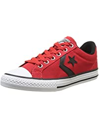Converse Star Player Ox - Zapatillas de Deporte de canvas Infantil