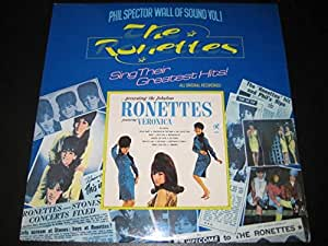 RONETTES LP, PHIL SPECTOR WALL OF SOUND VOL 1 (UK ISSUE EX/EX VINYL)