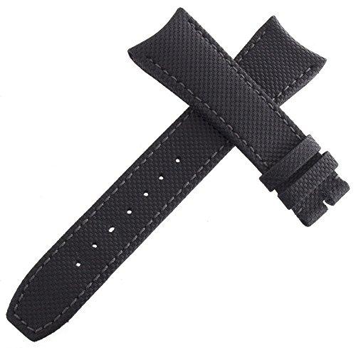 Raymond Weil Herren 22mm x 18mm schwarz Stoff Uhrenarmband t084433.12