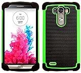 G-Shield Hülle für LG G3 Stoßfest Schutzhülle - Grün