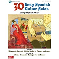 30 Easy Spanish Guitar Solos. Partituras, CD para Guitarra
