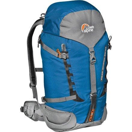 lowe-alpine-peak-attack-zaino-blu-surf-blue-35-10-litri