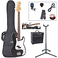 Encore EBP-E4BLK Elec. Bass Guitar Outfit - Black