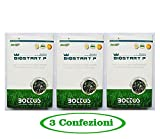 Concime Fertilizzante per Prato Bottos Bio Start 12-20-15-2 Kg - OFFERTA 3 CONFEZIONI