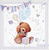 "Simon Elvin 6 Thank You For The Baby Gift Cards & Envelopes 5"" X 5"" - Boy"