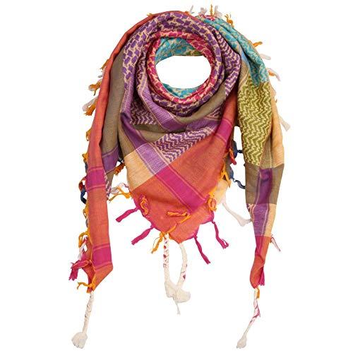 Superfreak Palituch - bunt-mehrfarbig 24-100x100 cm - Pali Palästinenser Arafat Tuch - 100{77a41921e1a742da7aa88de33fc5fe6e02f90097deecf993c956ec8c5e61c5f9} Baumwolle