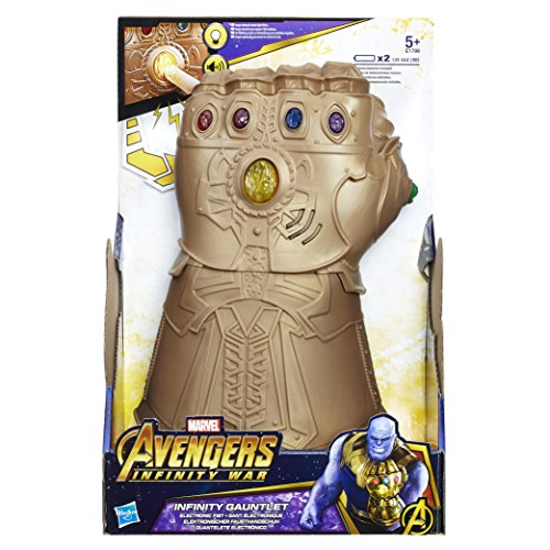 AVENGERS Marvel Infinity War Gauntlet Electronic Fist Figure