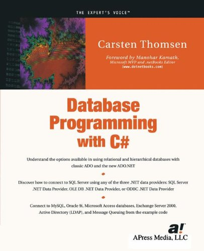 Database Programming with C# (The Expert's Voice)