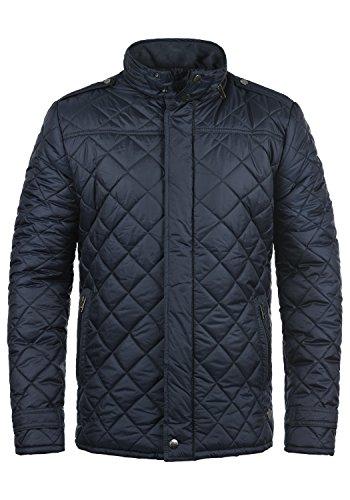 !Solid Safi Herren Steppjacke Übergangsjacke Jacke mit Stehkragen, Größe:L, Farbe:Insignia Blue (1991)