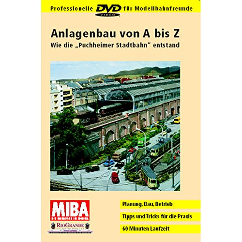 Anlagenbau von A bis Z - Wie die Puchheimer Stadtbahn entstand