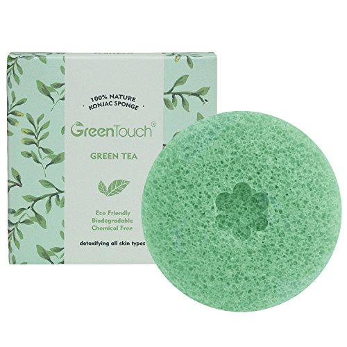 greentouch-all-natural-konjac-facial-sponge-with-green-tea-remove-the-oily-exfoliating-improved-text