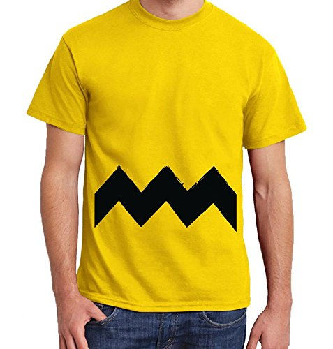 Woodstock Kostüm Snoopy (-- C. Brown -- Boys T-Shirt Größe L, Farbe)
