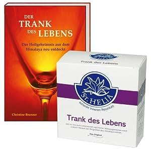 Trank des Lebens, Enzymgetränk, 144 g + Buch: Der Trank des Lebens (Sie sparen EUR 10,00 gegenüber Einzelkauf)