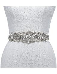 Remedios cinturón de diamantes correa de la boda para el vestido de fiesta de noche de las mujeres