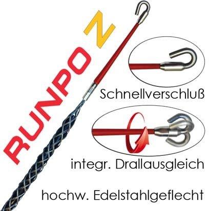 Preisvergleich Produktbild Runpotec Runpo Z Kabelziehstrumpf, Durchmesser 4-6 mm, 20272