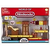 Nintendo JAKKNIN020LCDIM - World of Micro Land Playset Deluxe - Layer Cake Desert mit Ice Mario Figure