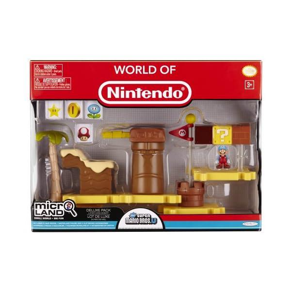 Jakks Pacific - Nintendo Micro Playset Deluxe Pack Serie 1, Modelo surtido, 1 unidad 2