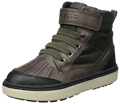 Geox Jungen J Mattias B Boy ABX B Chukka Boots, Grün (Green/Brown), 37 EU