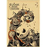 NSWZX 1000 Pieces Classic Anime Jigsaw Puzzle, Nightmare Before Christmas Wooden Puzzles, Adult Children Educational Toy Puzzle