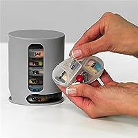 Orpio 7 Day Pill Box Medicine/ Tablate Storage Box 4 Compartment pill Medicine Storage Box Organizer